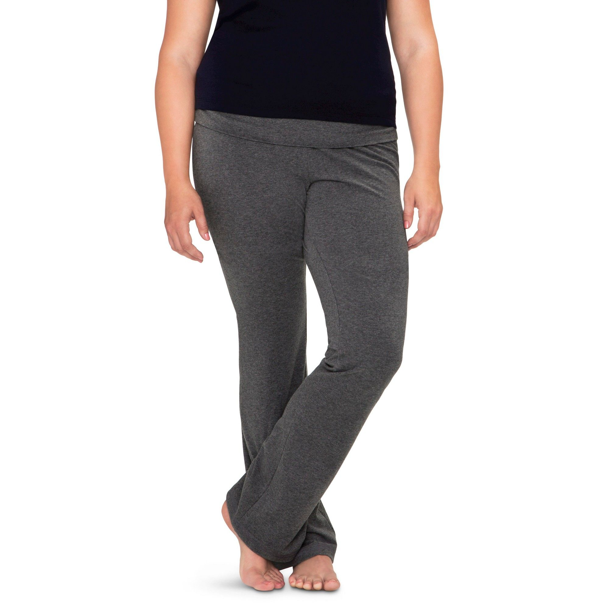 7fc7c615cdc Plus Size Bootcut Yoga Leisure Pants - Mossimo Supply Co. Gray 4X ...