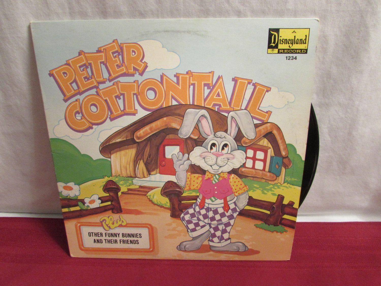 PETER COTTONTAIL Disneyland Record 1972