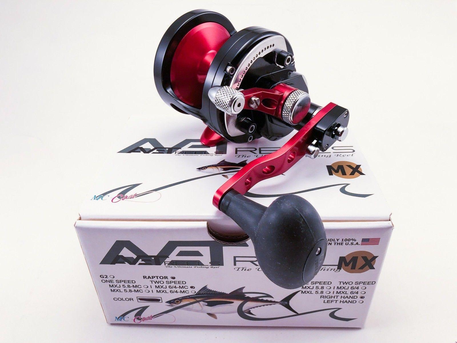 Avet MXJ 6/4 MC Raptor 2-Speed Fishing Reel * Custom Color