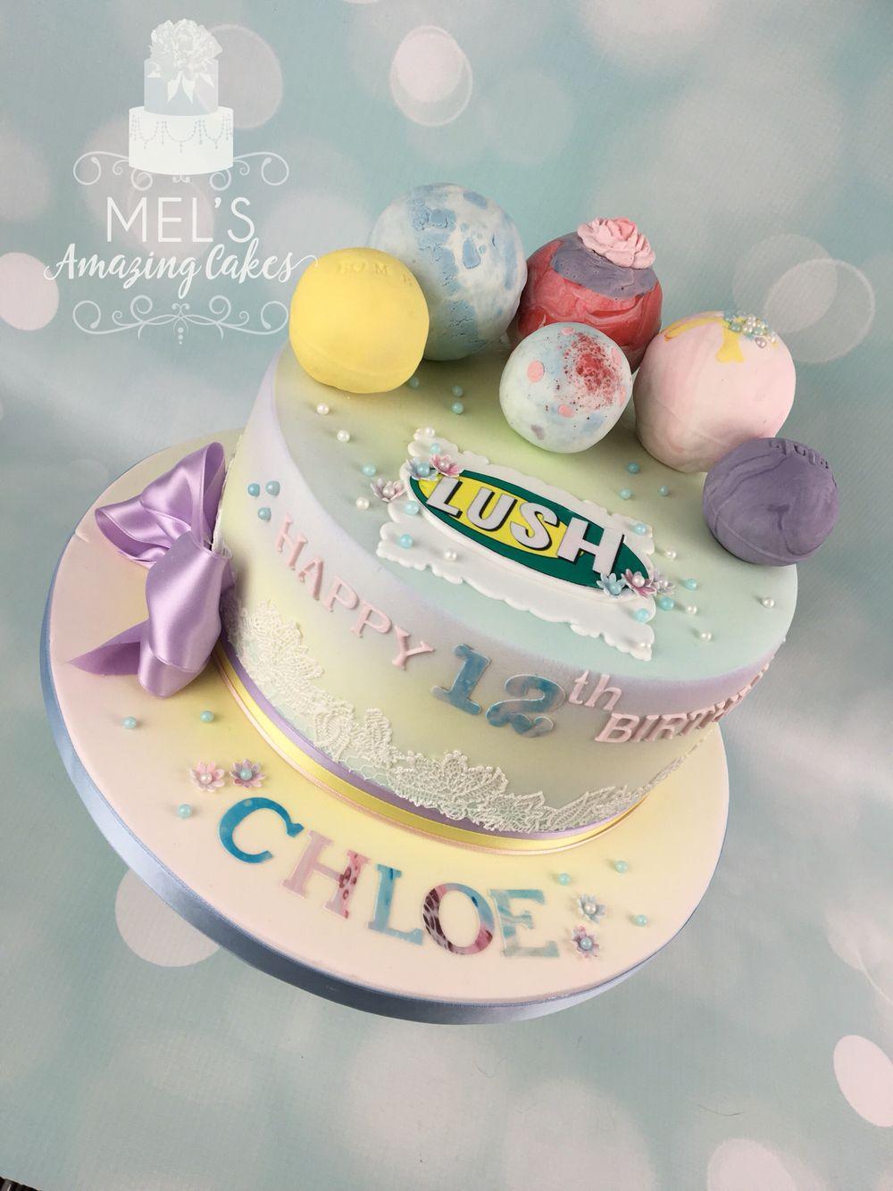 Birthday Cake Bath Bomb Lush