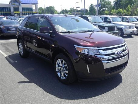 2011 Ford Edge Limited And It S Purple If Only I Could Afford It