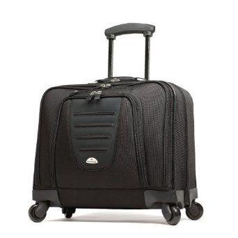 Samsonite 10392 Spinner Mobile Office Wheeled Briefcase Black 93 18