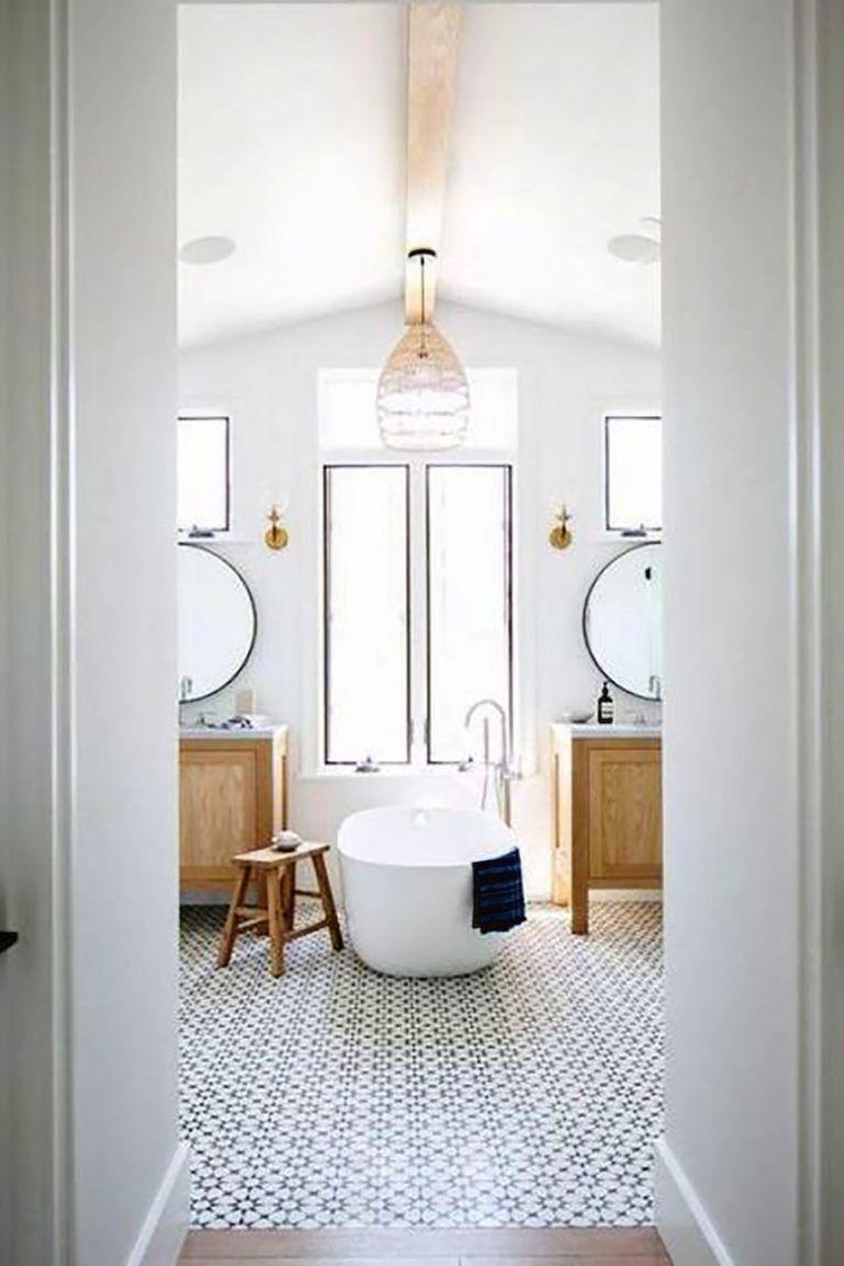 łazienka W Stylu Hampton łazienka Bathroom Bathroom