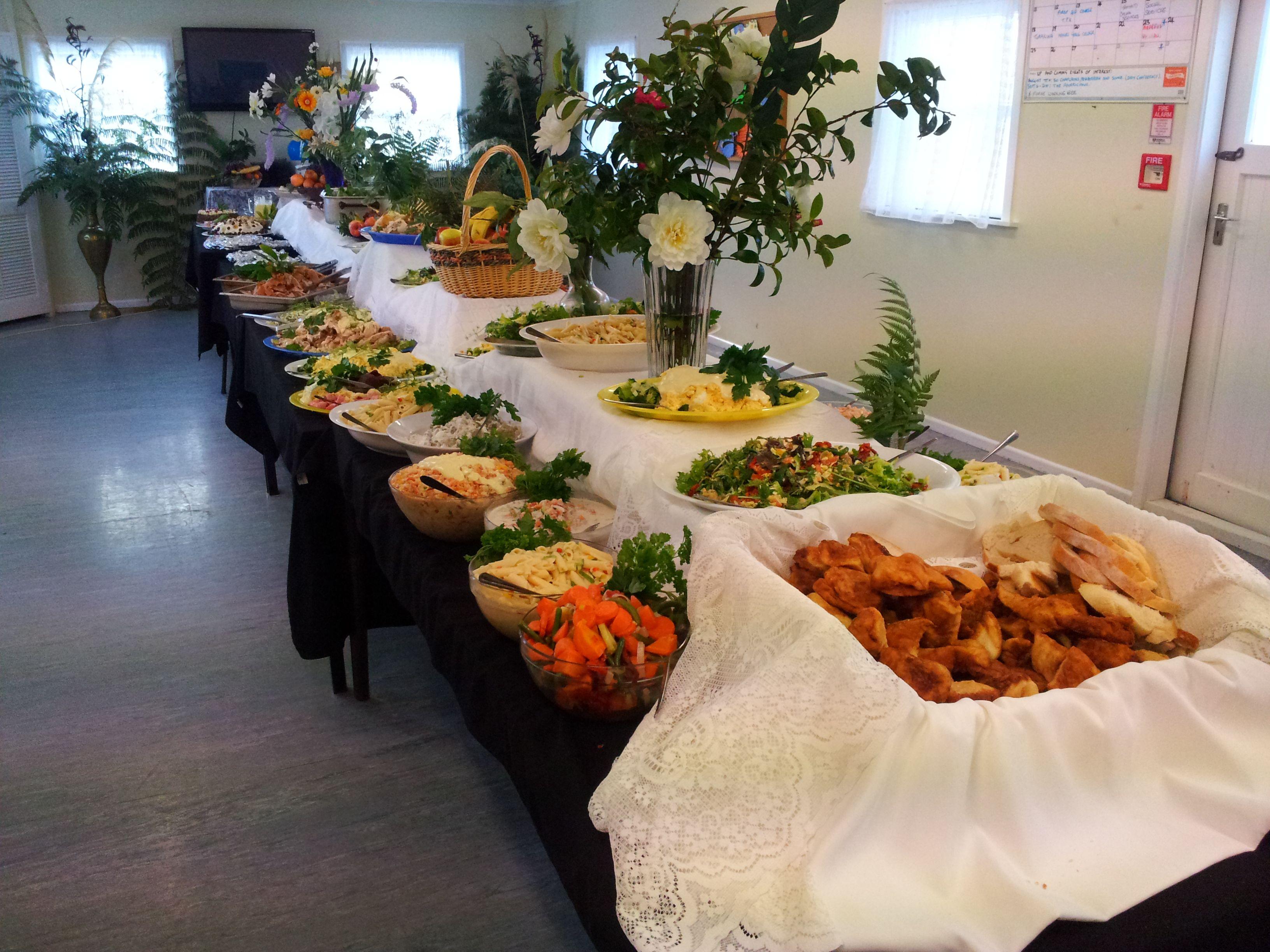 Whanau Hakari at Te Kakano Marae 2012 - 21st Birthday - a simple buffet