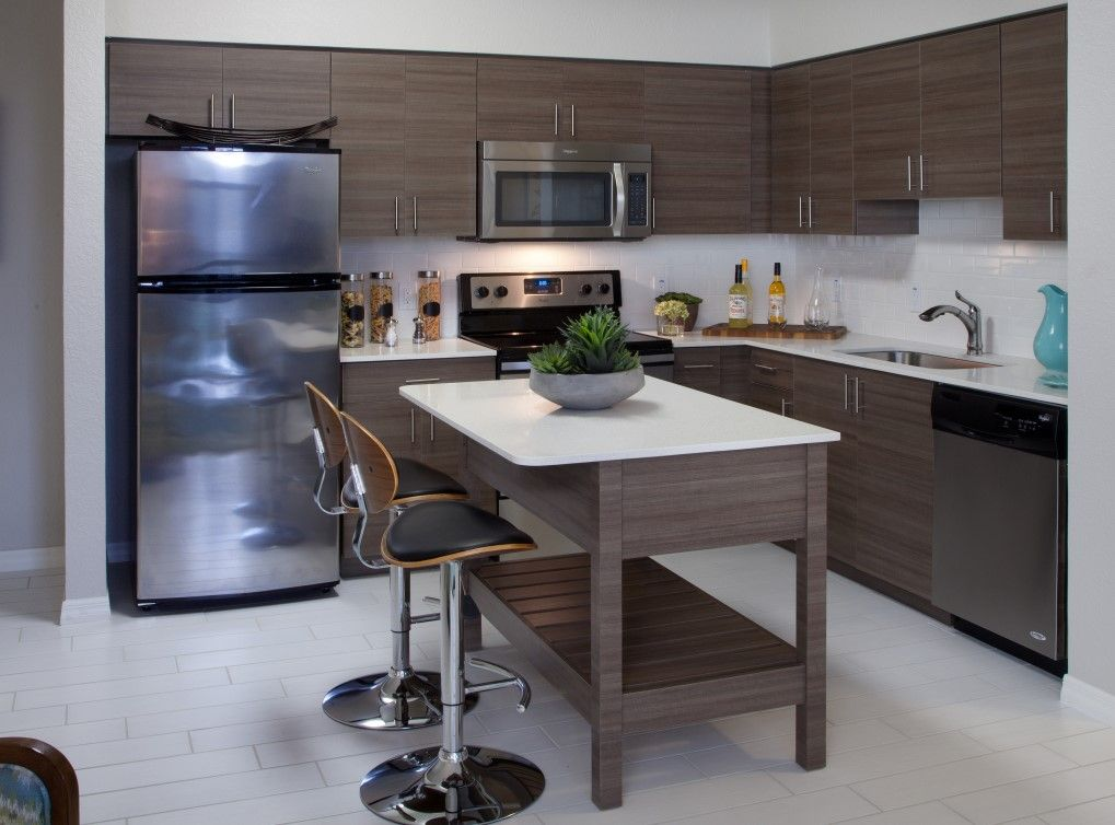 AMLI Dadeland Apartments In Miami, FL Feature Fully Equipped Kitchens With Stainless  Steel Appliances And Elegant Quartz Countertops. | Pinterest | Miami