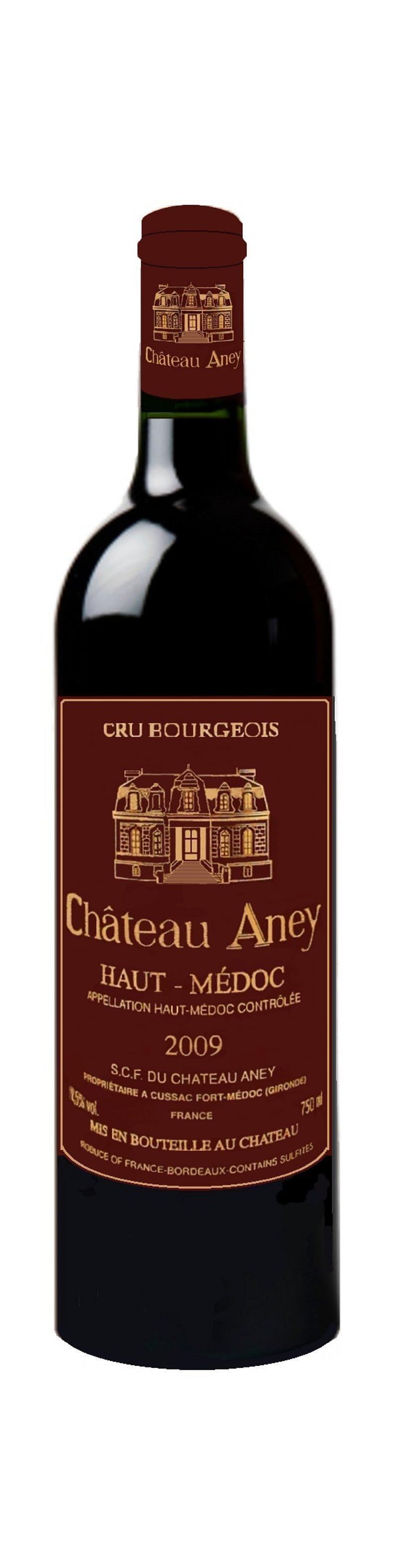 Chateau Aney Cru Bourgeois Haut Medoc 2009 Dark Fruits Smoke Spice Balanced Lingering Finish