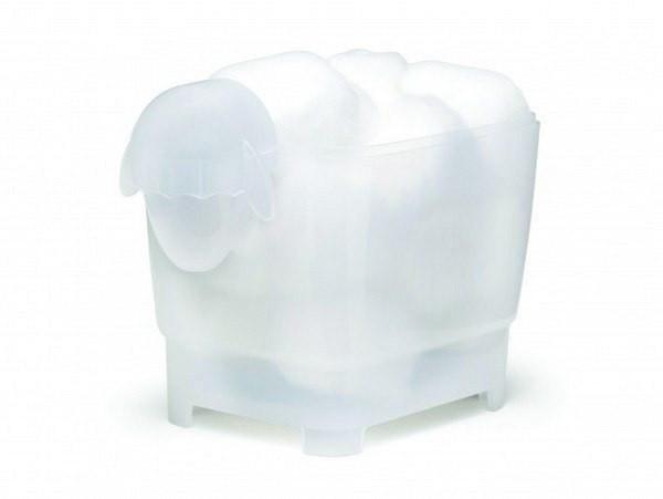 Monkey Business Dolica Sheep Cotton Ball Swab Holder Novelty Bathroom Storage