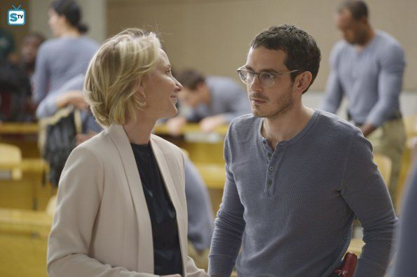 Quantico 1x09 Guilty Dr Susan Langdon And Simon Quantico