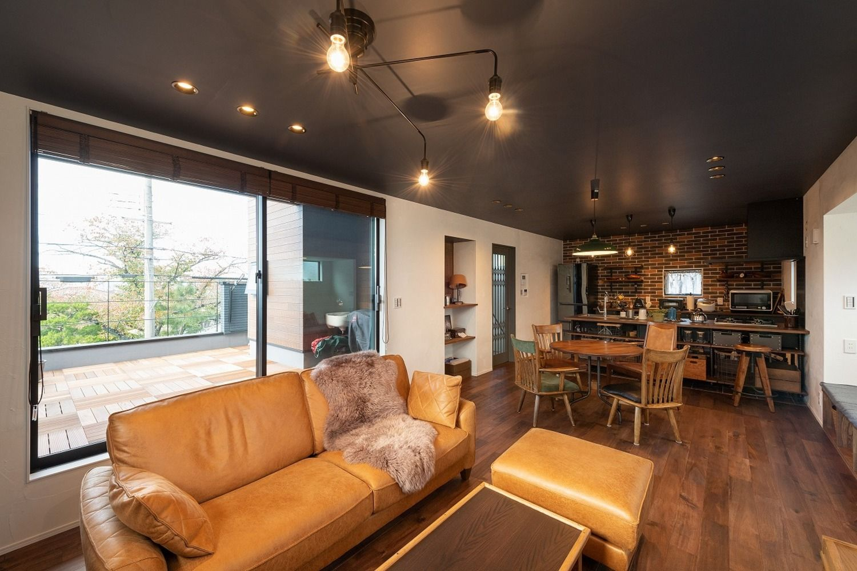 ヴィンテージスタイルの家 イー住まいの写真集 京都 注文住宅 工務店
