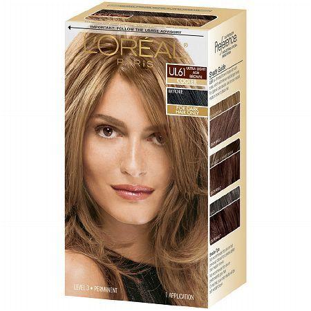 L Oreal Preference Glam Bronde No 4 Loreal Hair Color Light Brown Hair Box Hair Dye
