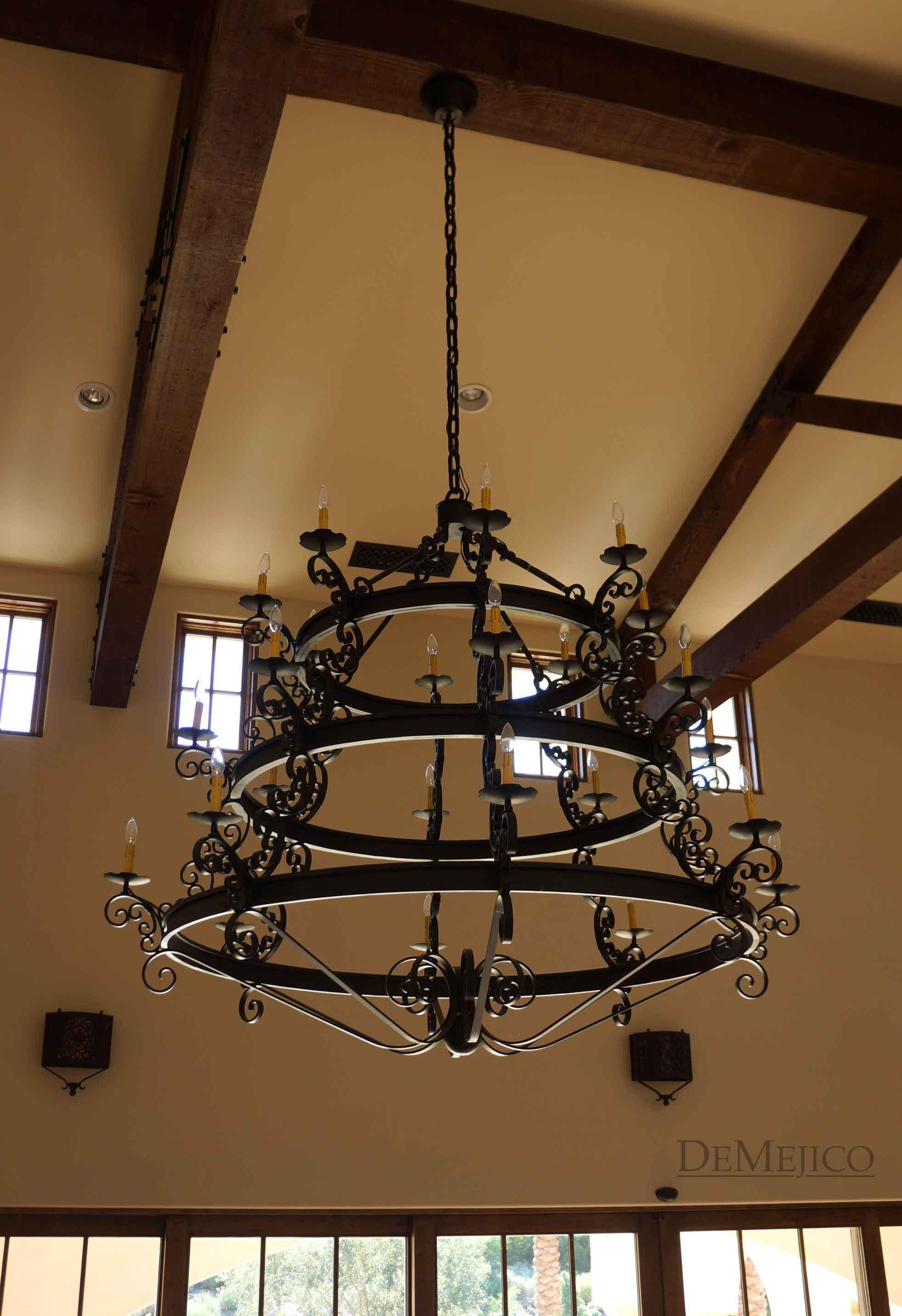 Custom Iron Lighting Fixtures Light