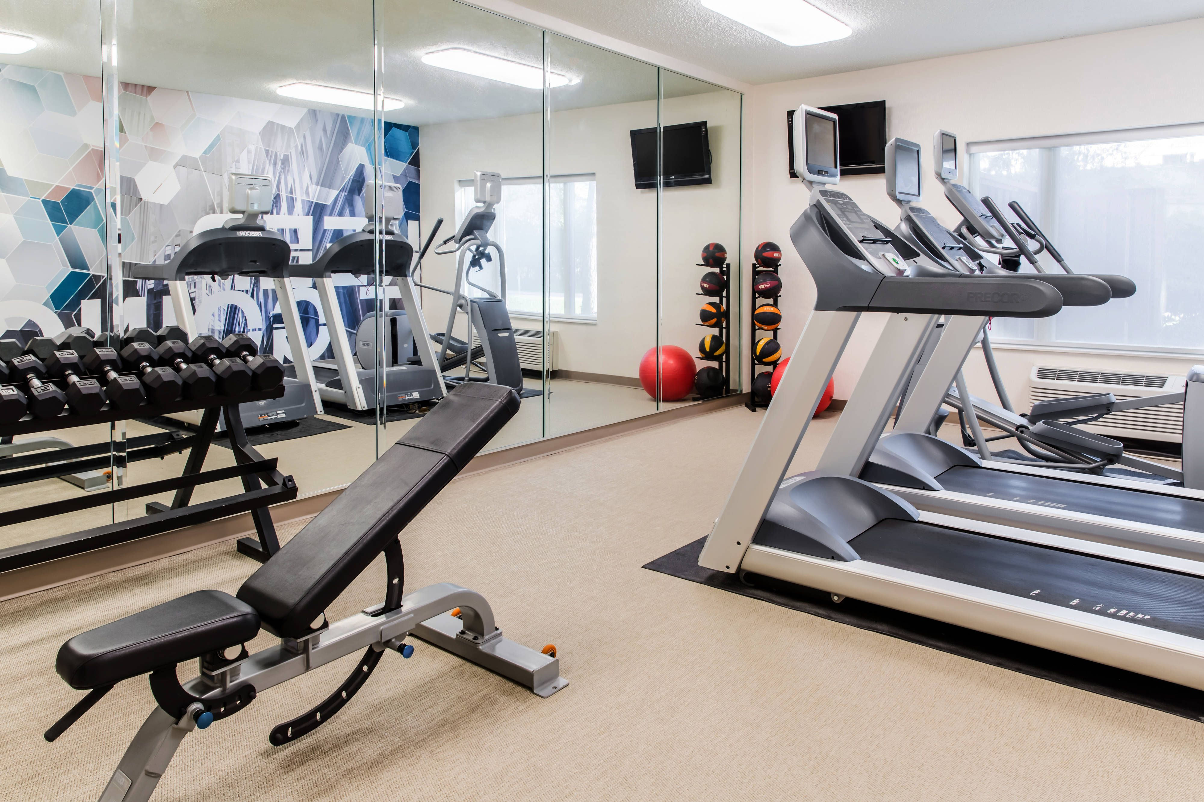 Springhill Suites Houston Brookhollow 24 Hour Fitness Center Rooms Traveling Guest Suites Springhill Home
