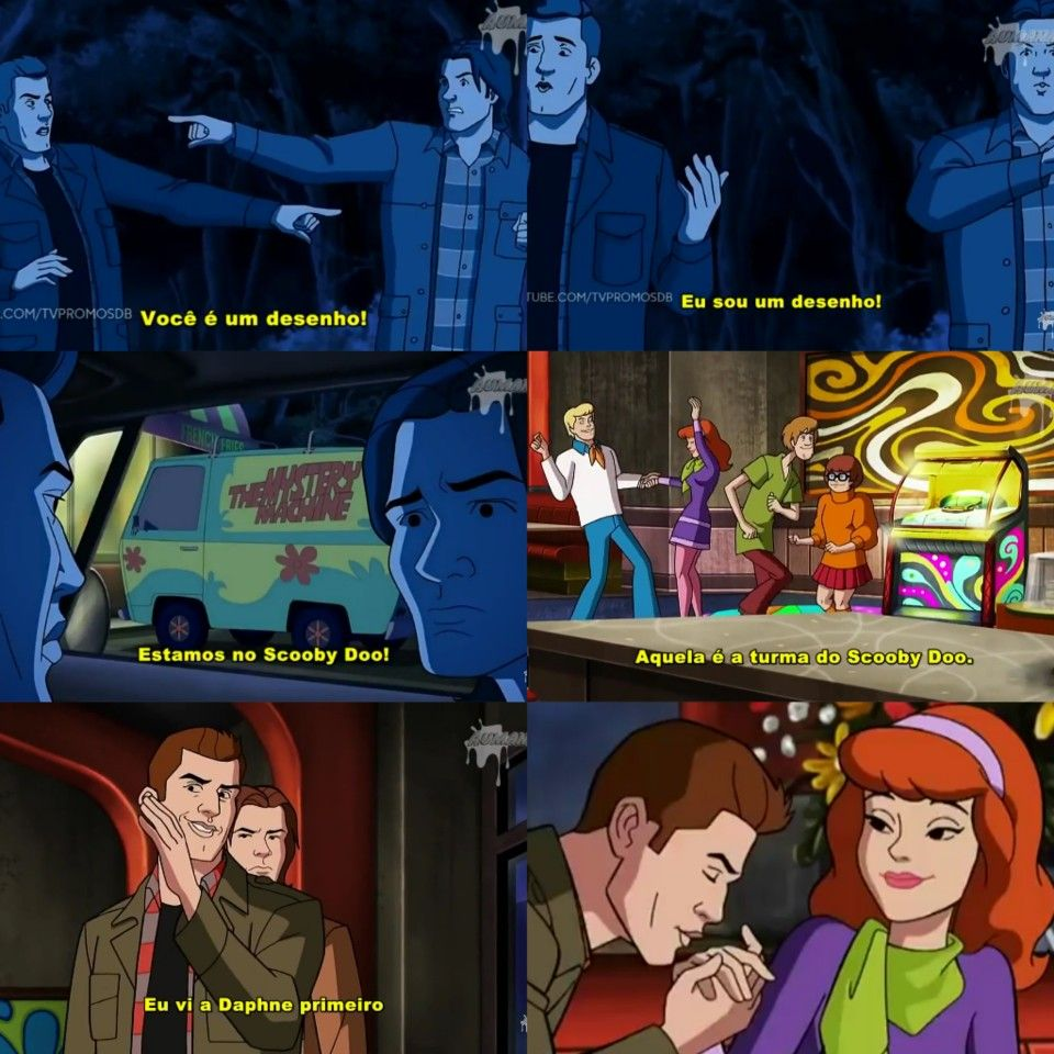 Scoobynatural Frases De Filmes Sobrenatural Papel De Parede