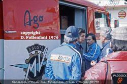 Grand Prix de France au Mans 1976 Photo Damien Follenfant.