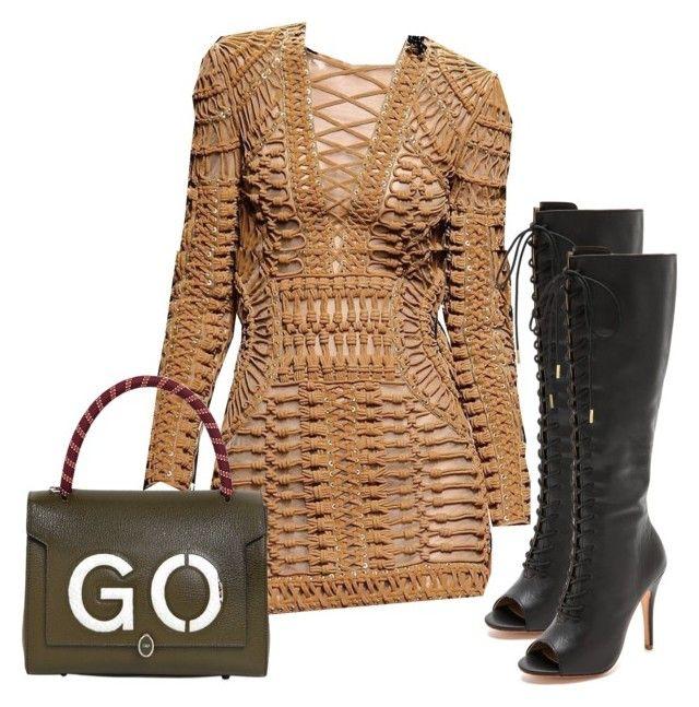 Alejandra G. Zarate Black Boots by alejandragshoes on Polyvore featuring polyvore, fashion, style, Alejandra G