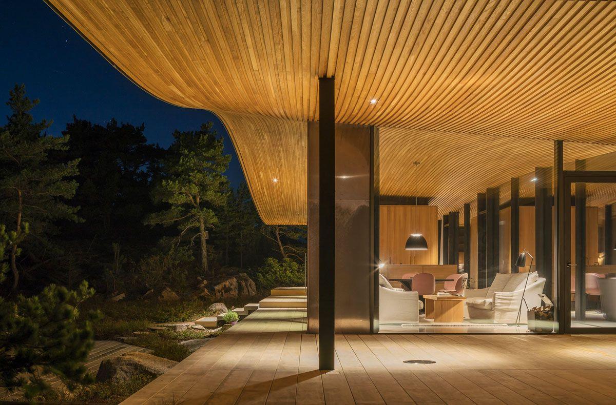 Bildergebnis fr interior design modern glass house