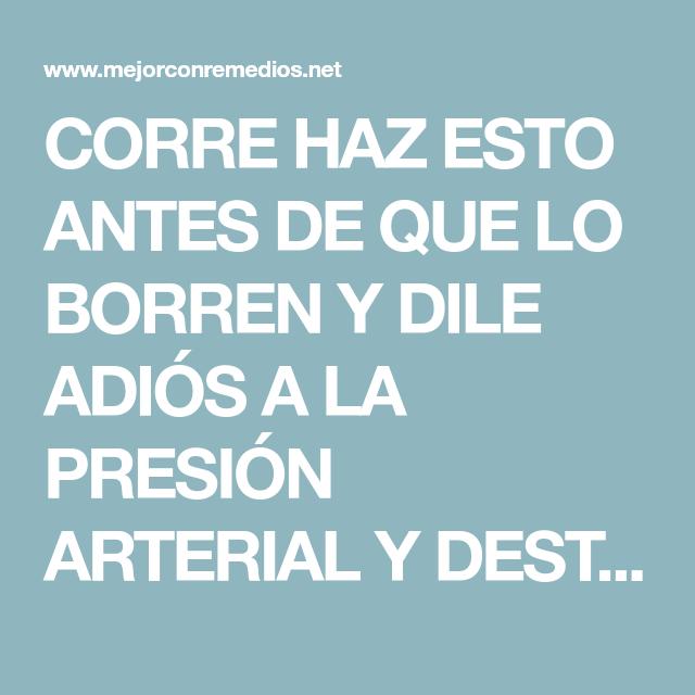 CORRE HAZ ESTO ANTES DE QUE LO BORREN Y DILE ADIÓS A LA..