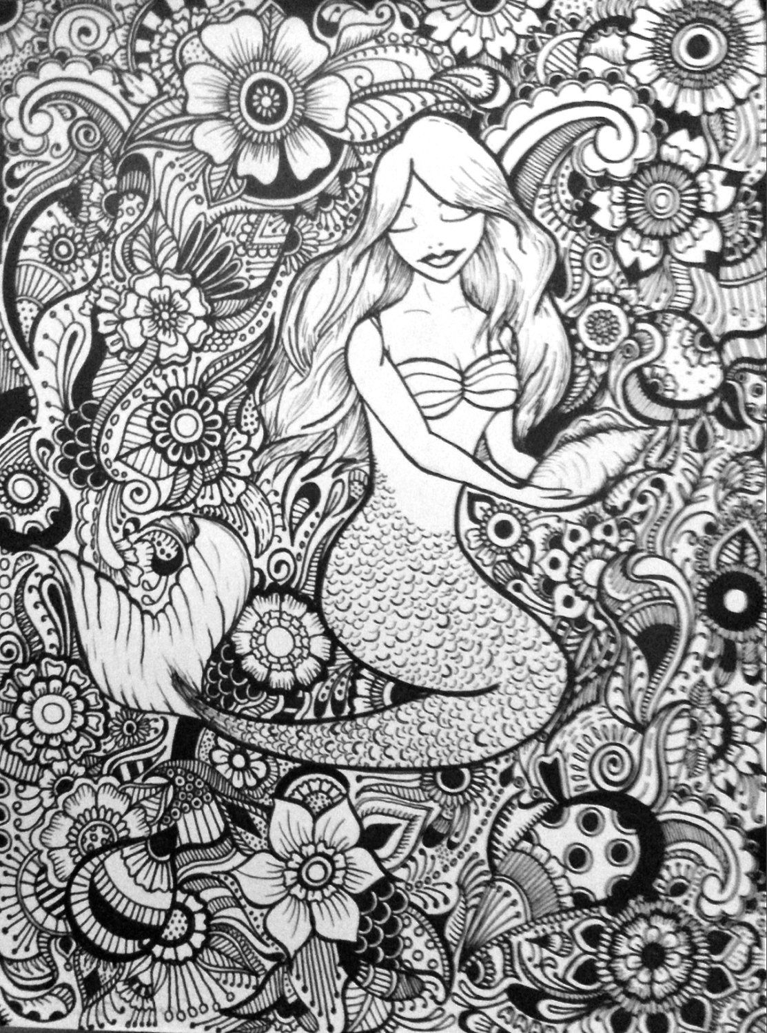 This Item Is Unavailable Etsy Mermaid Coloring Pages Coloring Pages Mermaid Coloring