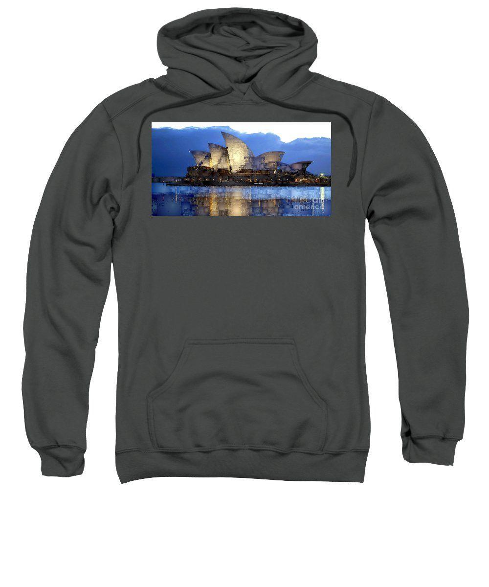 Sweatshirt - Sydney Opera In Australia