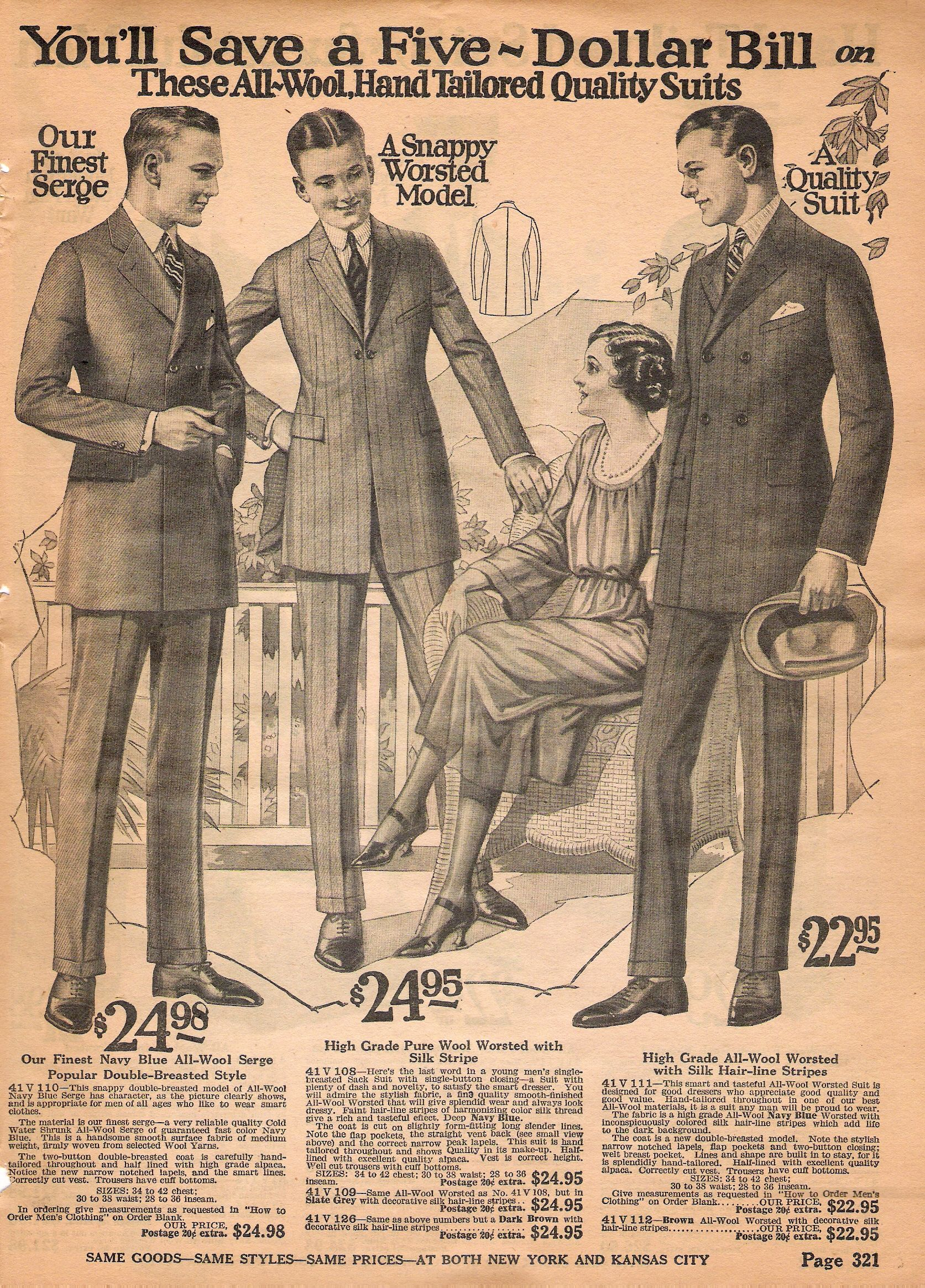 Vintage clothes fashion ads of the 1940s page 22 - Image Result For 1920 Through 1929 Clothing Catalog