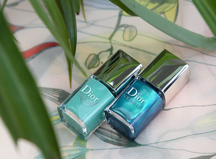 Dior Bird Of Paradise Summer Nail Lacquer Duo in Samba 001