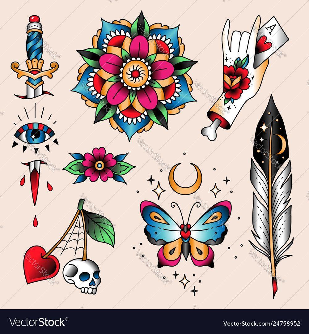 Tattooideas Besttattoomodels In 2020 Old School Tattoo Designs Traditional Tattoo Traditional Tattoo Images