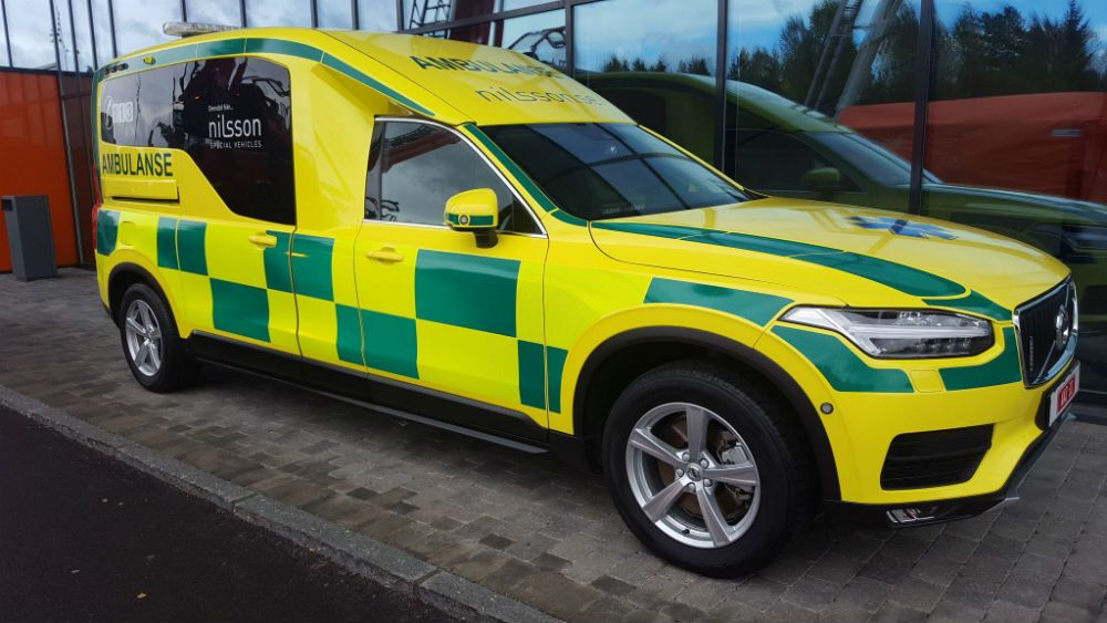 volvo xc90 ambulanse