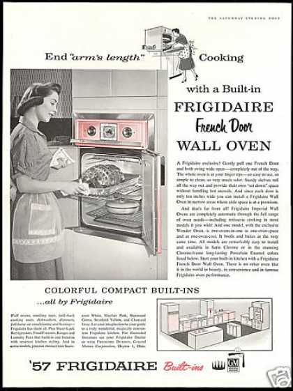 Vintage Household Ads Of The 1950s Page 59 French Door Wall Oven Vintage Kitchen Appliances Vintage Appliances