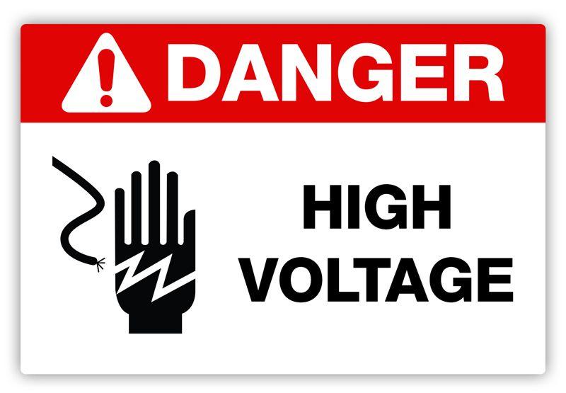 Creative Safety Supply Danger High Voltage Label 3 90 Http Www Creativesafetysupply Com Danger High Voltage Label Dangerous Lockout Labels
