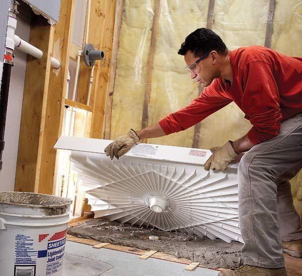 Installing A Shower Pan – DIY Real
