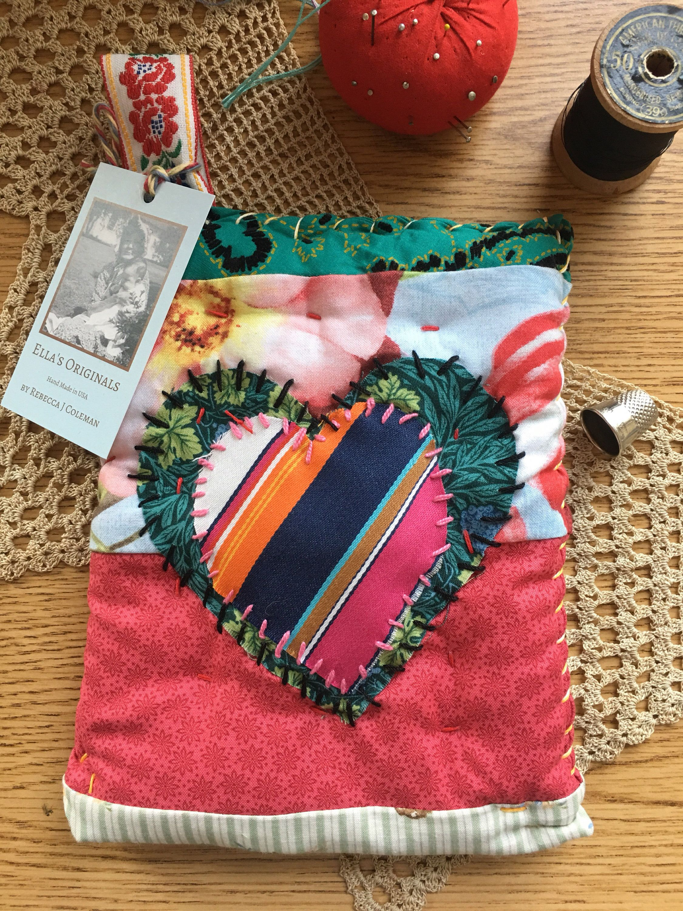 Cotton Hot Pad, Quilted Pot Holders, Colorful Brights on Multi Color ...
