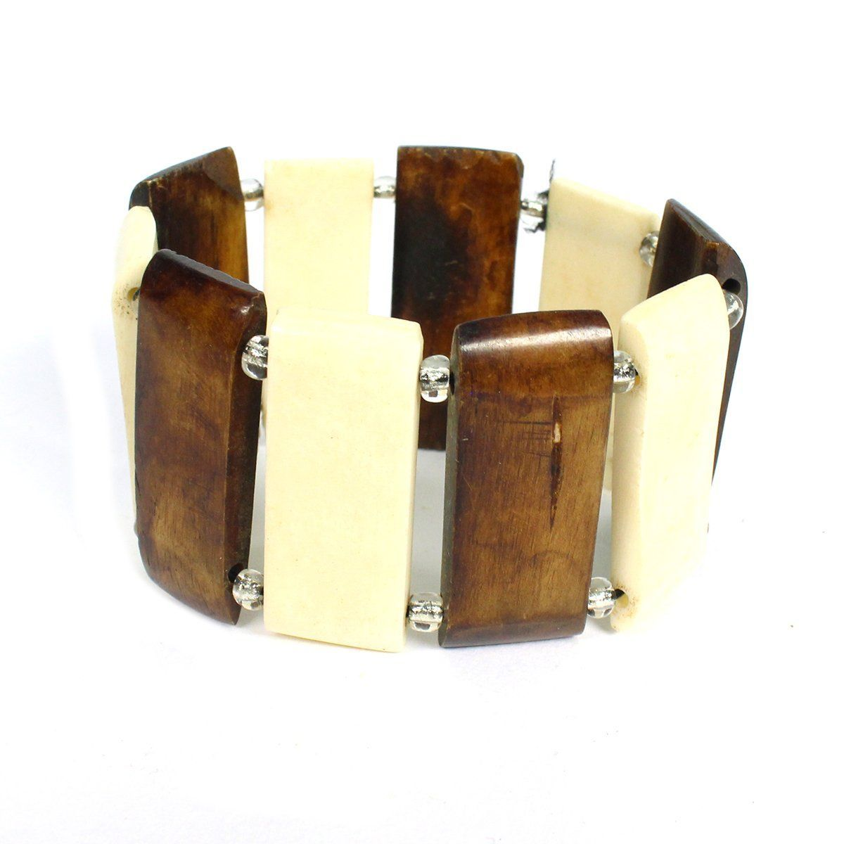 Cow Horn Bracelet Wide