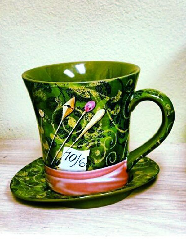 Alice in Wonderland: #Mad #Hatter teacup and saucer. | coffee ...