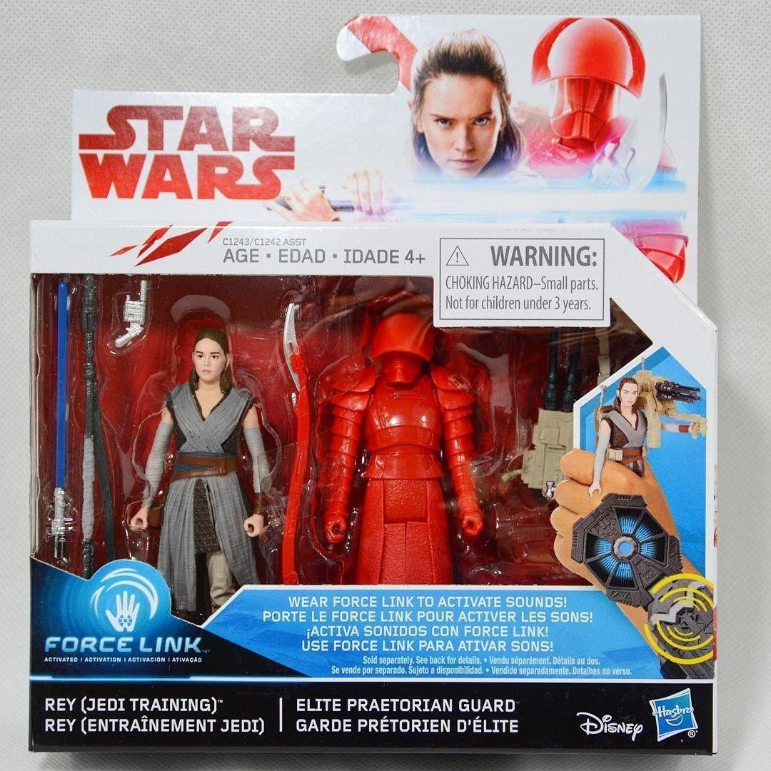 MIB Star Wars The Last Jedi Force Link Rey /& Elite Praetorian Guard 2 Pack