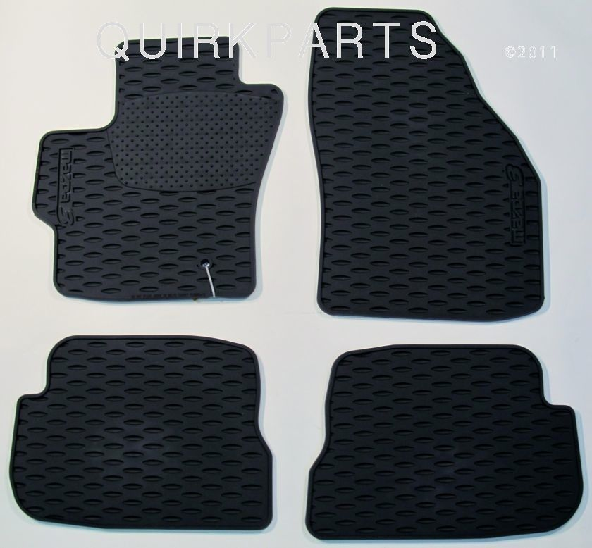 2006 2009 Mazda3 Mazdaspeed3 All Weather Floor Mats Genuine Oem New 0000 8b L02a Mazda Rubber Floor Mats Mazda 3 Mazda