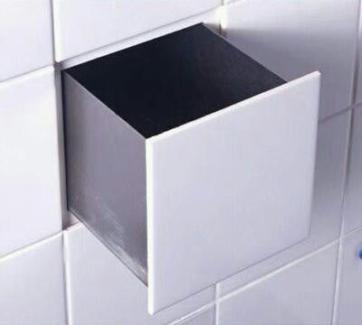 Wall Safe Behind A Tile Small Bathroom Tiles Secret Hiding Places Hidden Storage