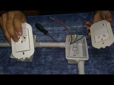 46 Como Sacar Corriente De Un Toma Para Otro Toma Con Lampara Youtube Curso De Electricidad Diagrama De Instalacion Electrica Generadores Electricos