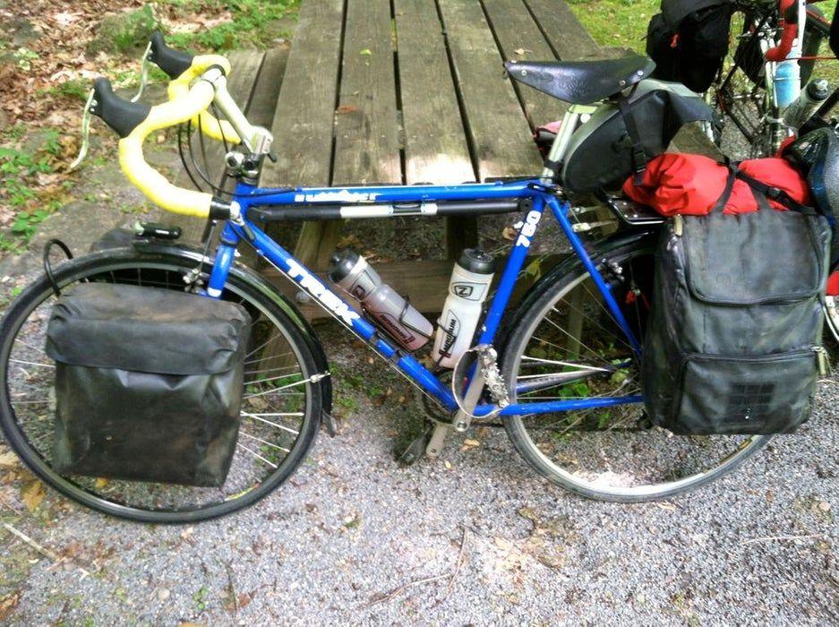 DIY Bike Panniers Homemade Bicycle Panniers in 2020