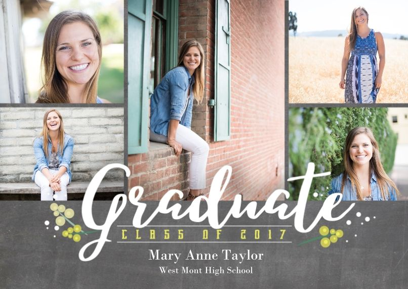 2016 Graduation Announcements Grad Announcements – Snapfish Graduation Invitations