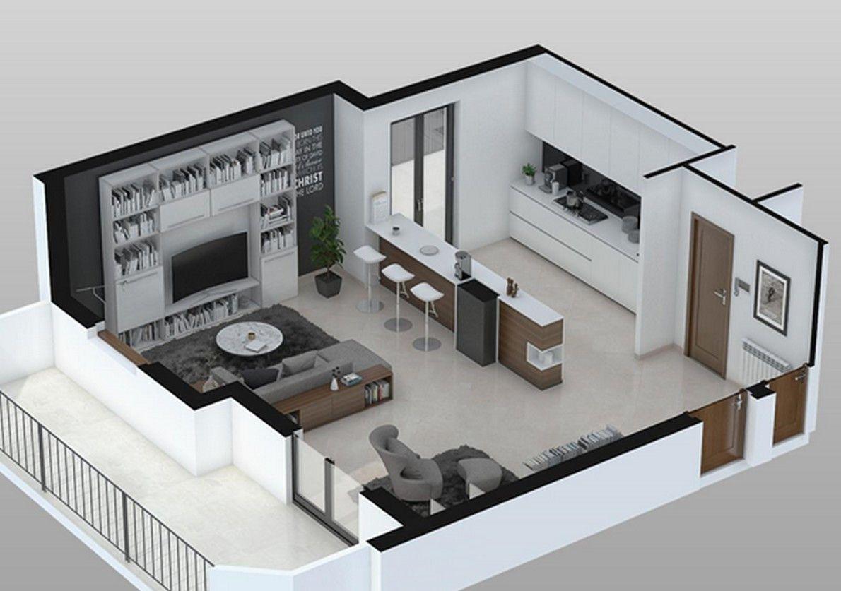 Cucina e soggiorno insieme in più di 25 mq: Il Meglio Di Cucina Soggiorno 15 Mq Arredamento Sala E Cucina Progettazione Interni Casa Design Appartamenti