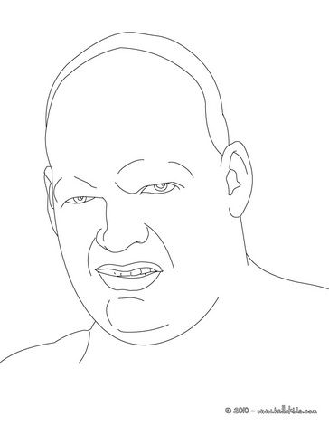 Wwe Kane Coloring Pages Color Online This Kane Coloring Page You