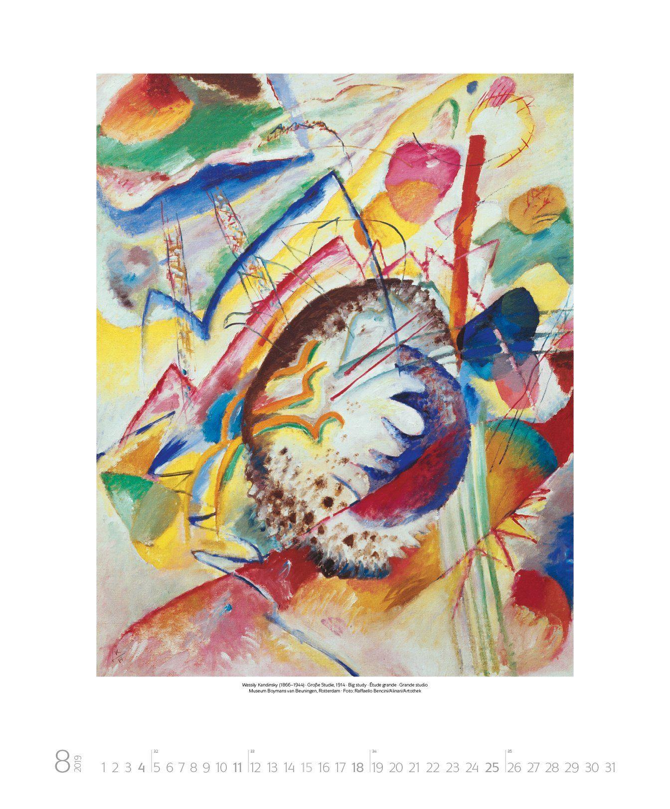 Wassily Kandinsky 2019 Kunst Art Kalender Kandinsky Wassily Kalender Art Wassily Kandinsky Kandinsky E Kunst