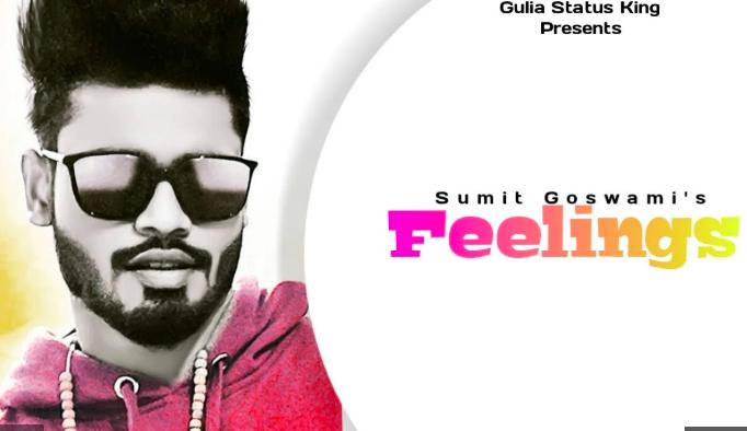 Feelings Sumit Goswami Song Status Video Download In 2020 Song Status Songs Music Status