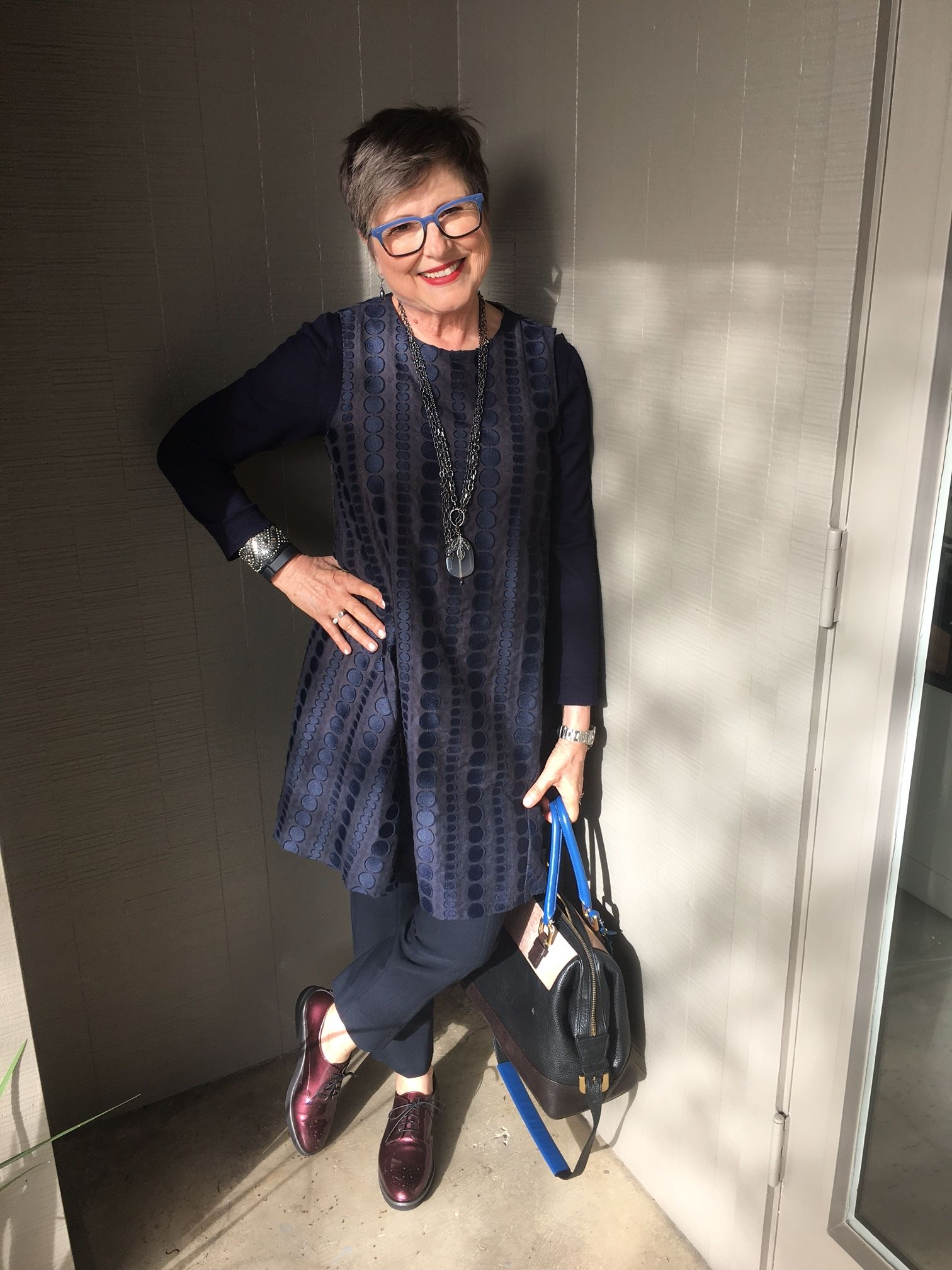 Over 60 and Answering Questions on Aging   Blue polka dots  Fashion     I invite you to look inside the soul of your fashion and style and answer  these questions on aging  What do you like about it  What challenges you
