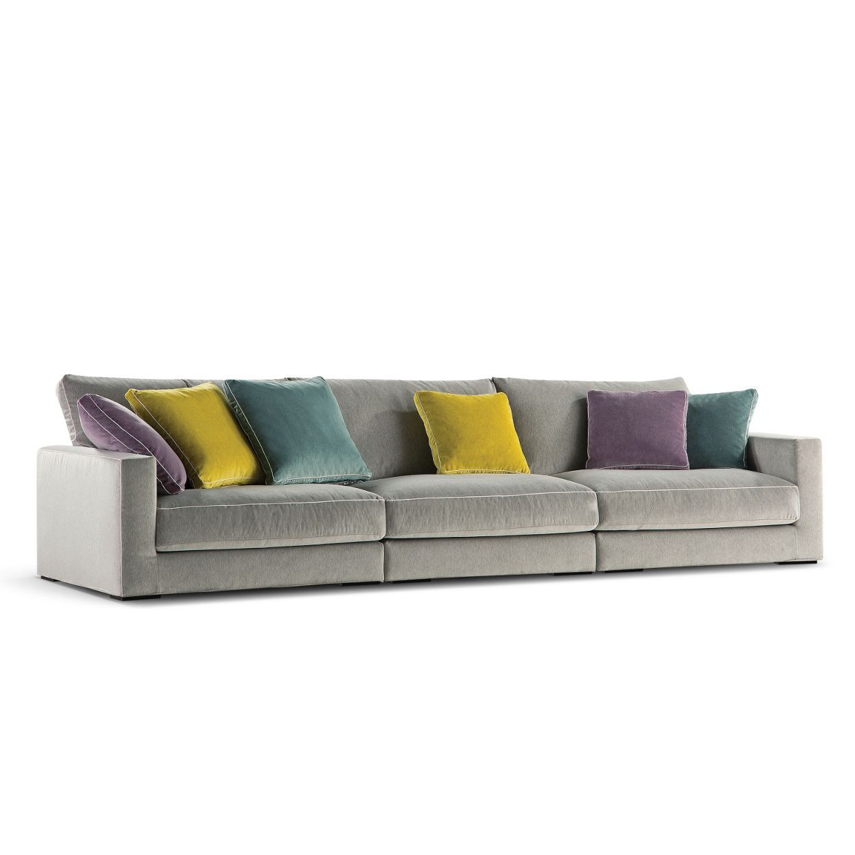 Long Island 2 Straight Composition Roche Bobois Modern Sofa Designs Classy Living Room Sofa