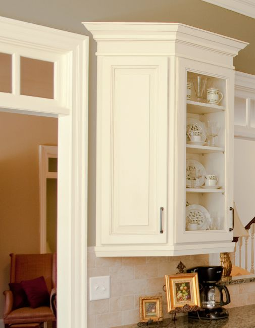 Cliqstudios Wall End Angle Allows For Transition From A 12 Depth Cabinet To The Wall Which Allows D Kitchen Cabinetry Upper Kitchen Cabinets Kitchen Examples