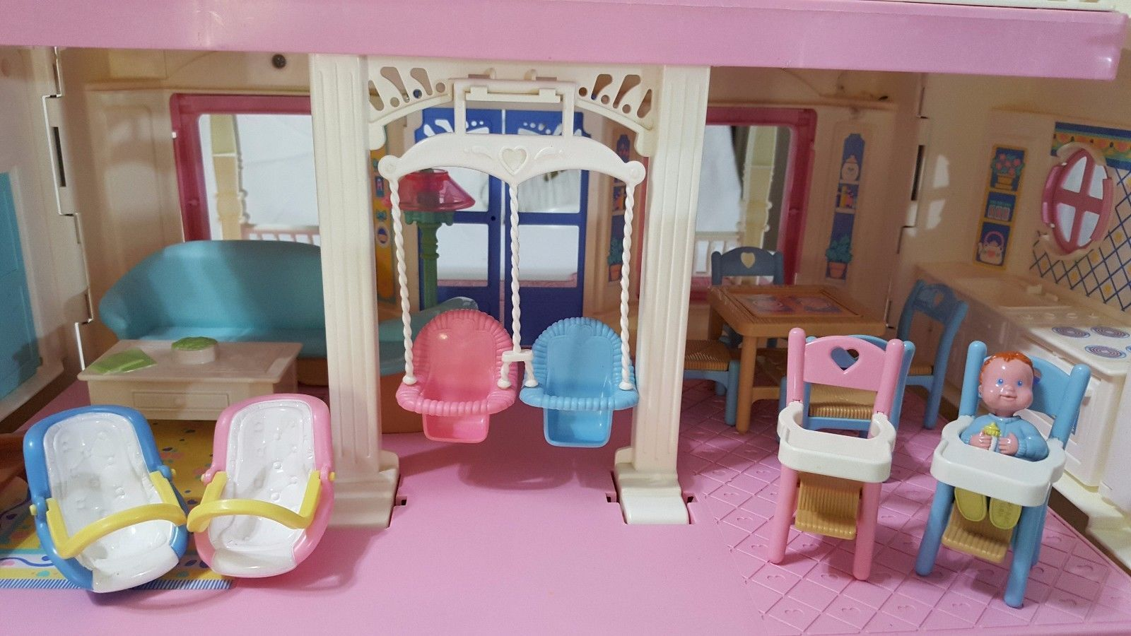 Fisher Price Loving Family Dream Dollhouse with Numerous ...