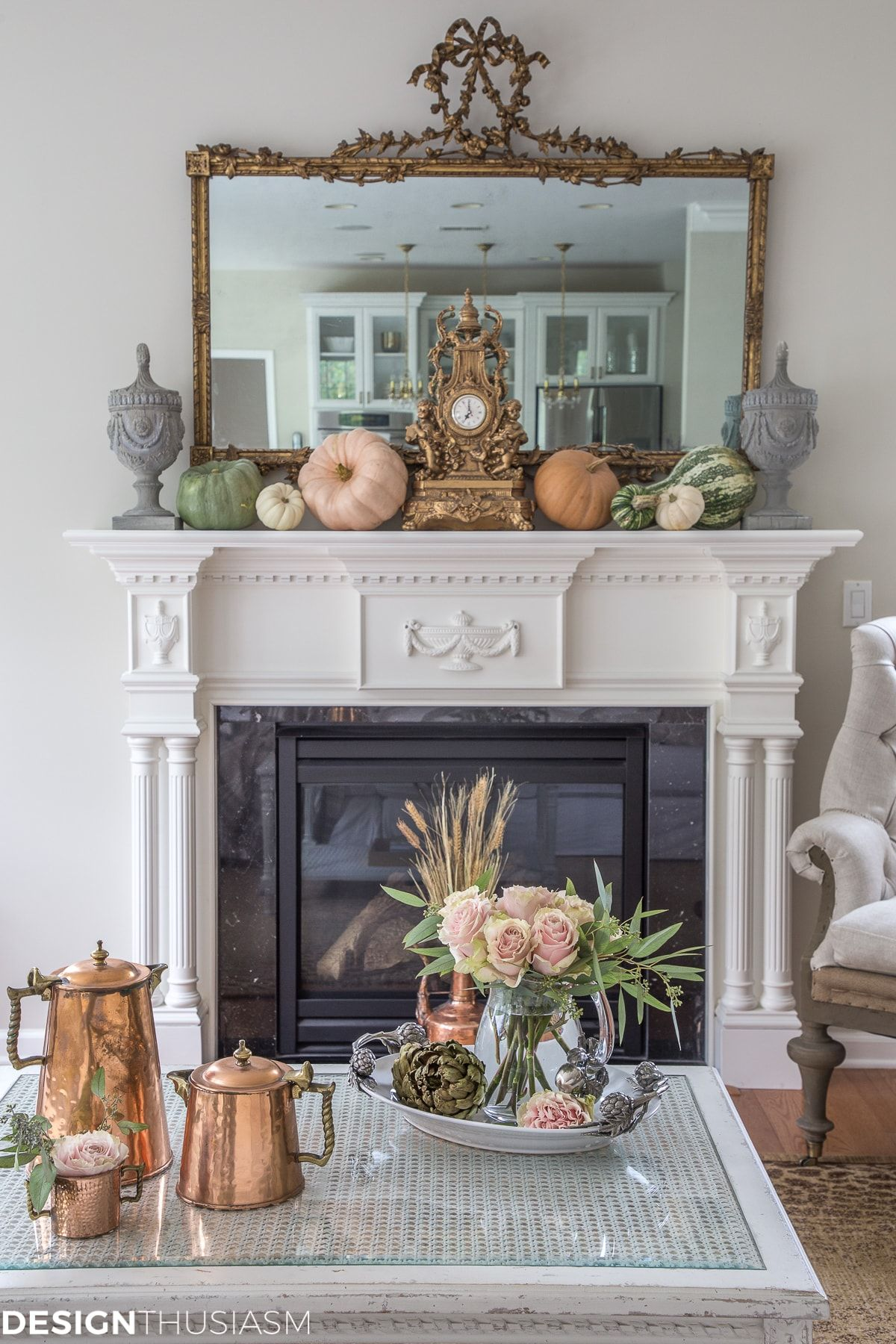 Fall Decor Ideas 5 Quick Steps To Bring Fall Into Your Living Room Country Style Dining Room