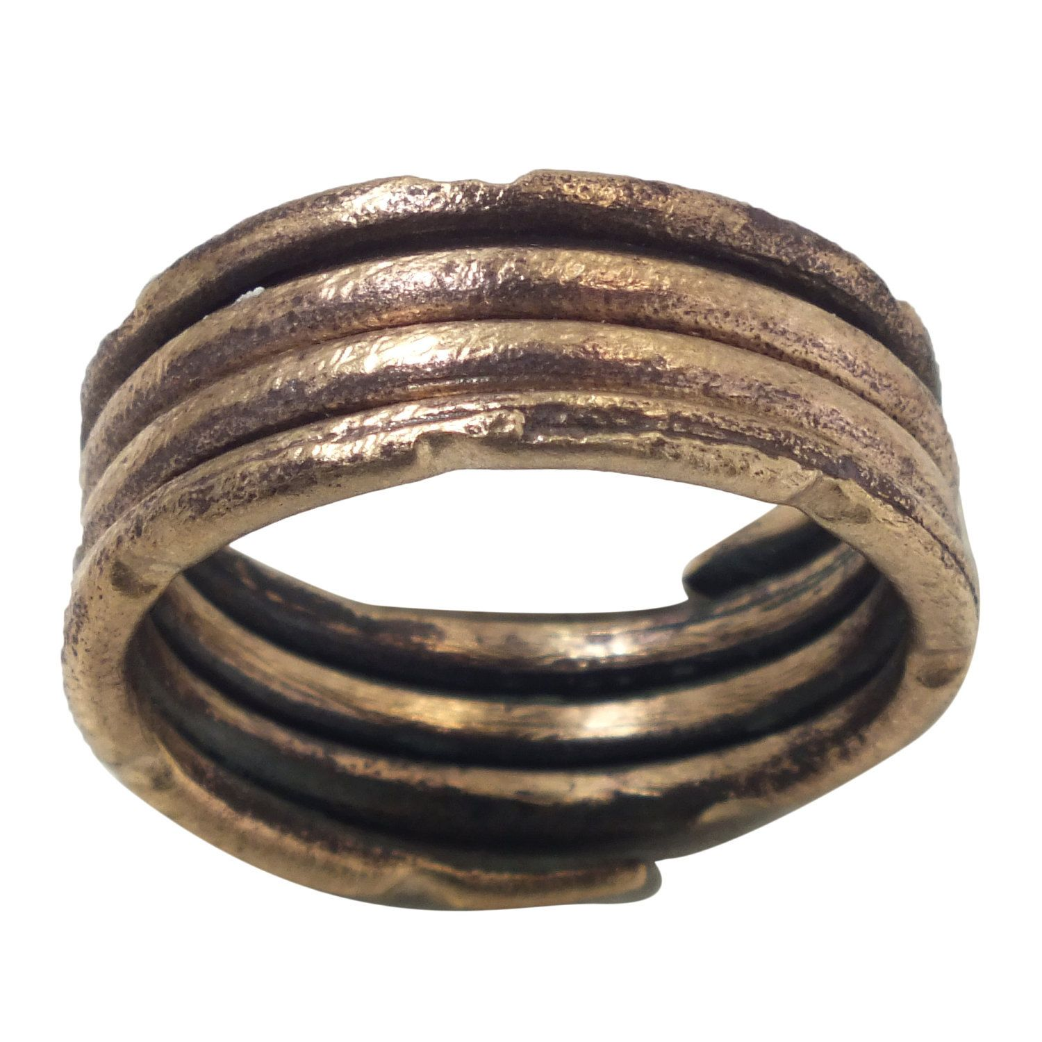 Ancient Viking Womens or Mans Wedding Ring