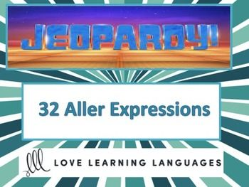 french aller expressions jeopardy game | activities, students and, Powerpoint templates